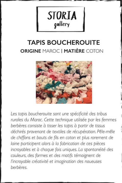 tapis Collection boucherouite